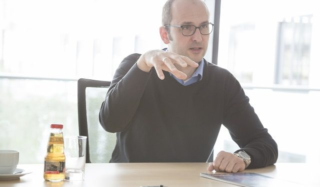 Dr. Jörg Dörr zur CeBIT 2017 zum Thema Datenschutz Fraunhofer IESE