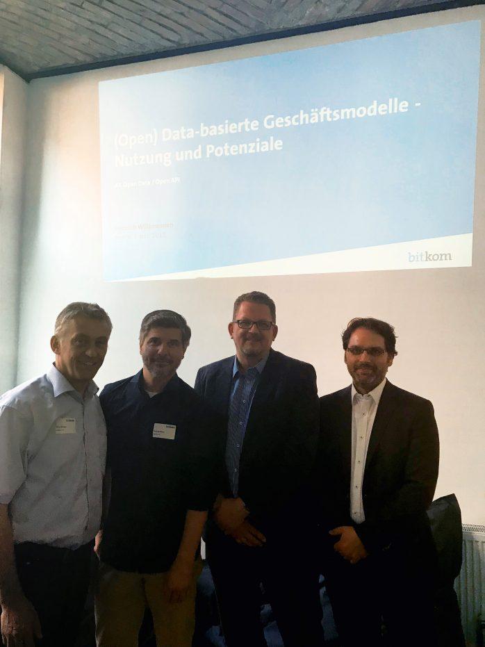 Bitkom-Arbeitskreis mit Michael Ochs (Fraunhofer IESE)