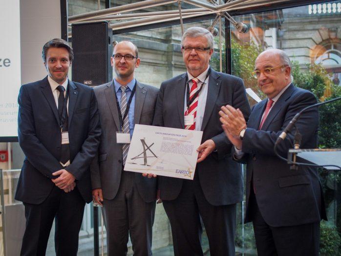 Fraunhofer IESE - Ausgezeichnete Forschung: IND²UCE gewinnt den EARTO-Innovationspreis 2014