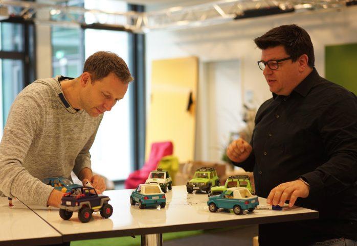 Digitale Ökosysteme - Modellierung mit Playmobil