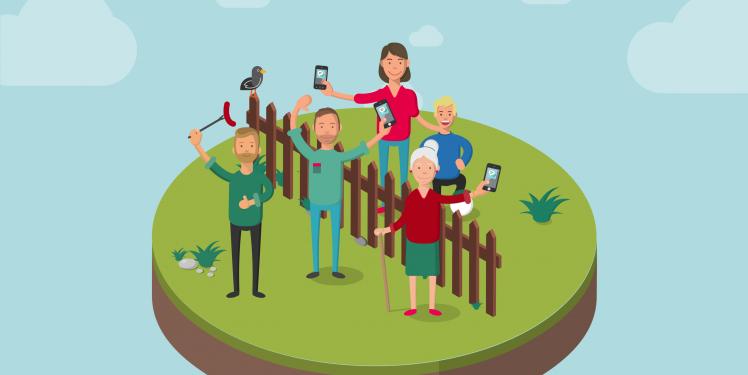 Digitale Doerfer - Gemeinschaft