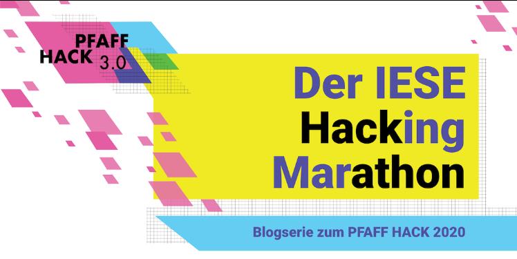 PFAFF HACK: Hackathon für Nachhaltigkeit